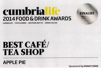 Cumbria Life Food & Drink Awards 2014