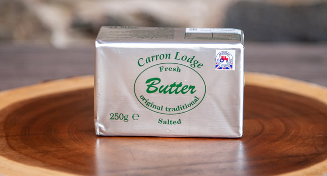 250g Carron Lodge Salted Butter